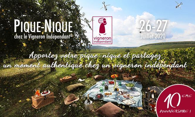 Pique-Nique chez le vigneron indépendant